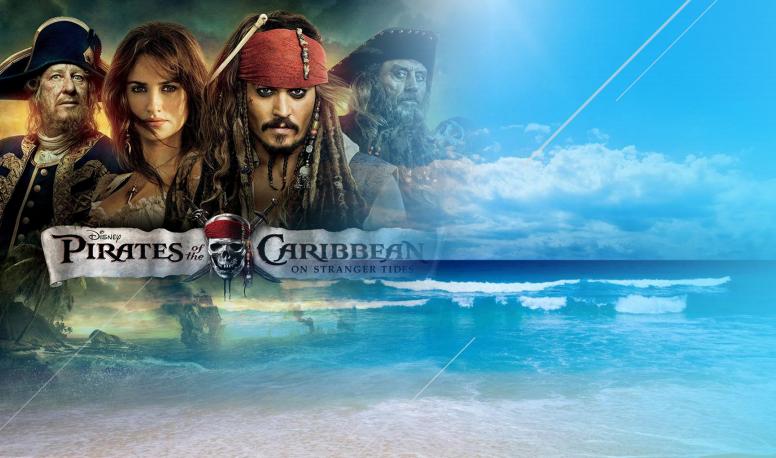 加勒比海盗海边主题团建